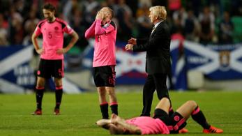 A skótok gólkülönbséggel bukták el a vb esélyét