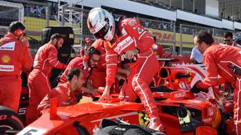 F1: Vörös istennőből vörös bohóc