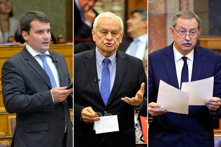 Gaál Gergely, Harrach Péter, Szászfalvi László