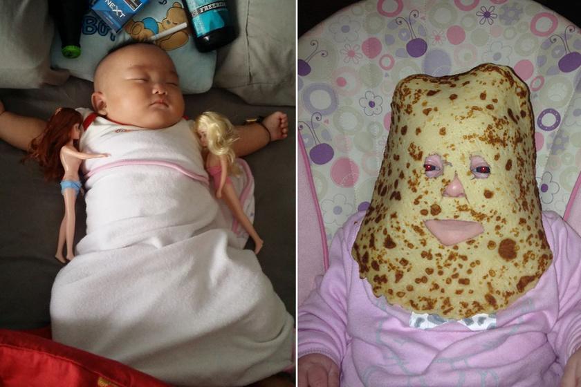 Volt egy apa meg egy baba, és ami ebből lett, az felülmúlt minden képzeletet