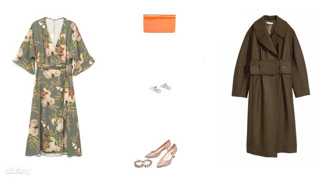 Ruha - 8995 Ft (Mango), táska - 22 font (Asos), fülbevaló - 1650 Ft (Parfois), cipő - 17995 Ft (Zara), kabát - 39990 Ft (H&M)