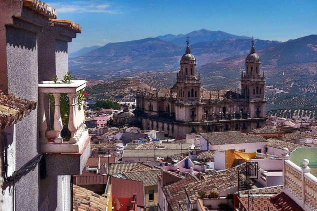 Jaén látképe