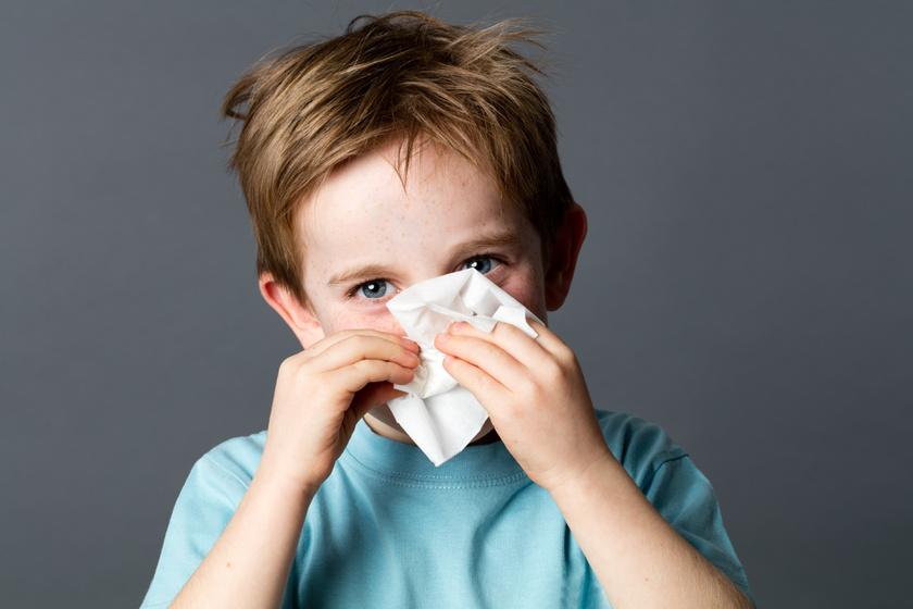 Így ismerd fel a rejtőzködő allergiát: nemcsak az őszi időtől tüsszöghet a gyerek