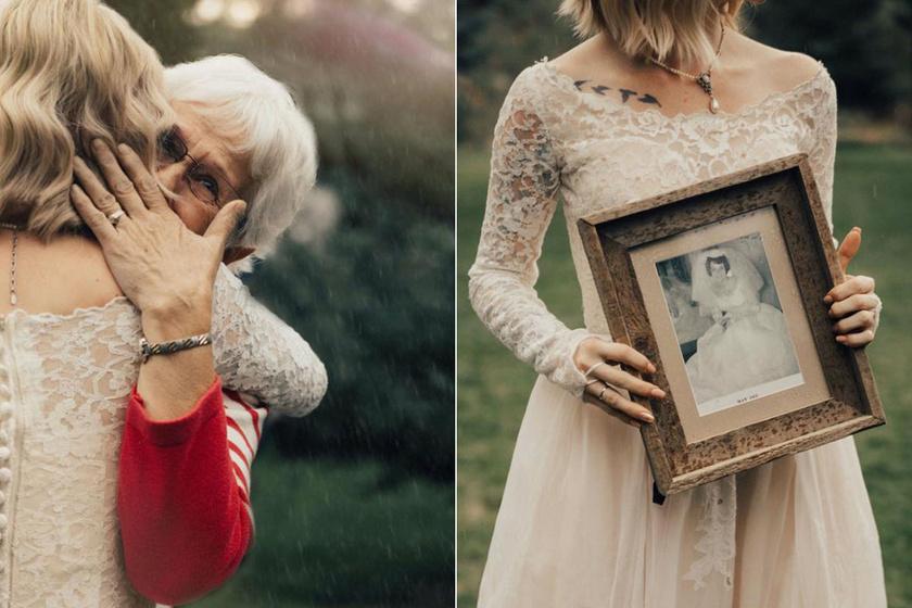 Zokogott a meghatottságtól a nagymama, amikor meglátta unokáját - Ezért hatódott így meg