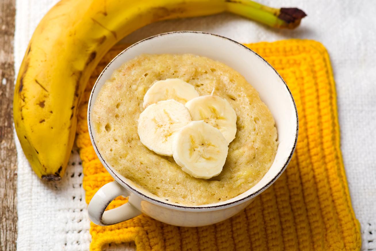 3 perces mikrós, banános süti - Ha azonnal édességet ennél, ezt készítsd el