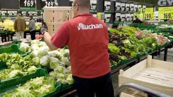 13,6 százalékkal emeli a béreket az Auchan