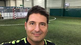 Hajdú Péter balesetet szenvedett focizás közben