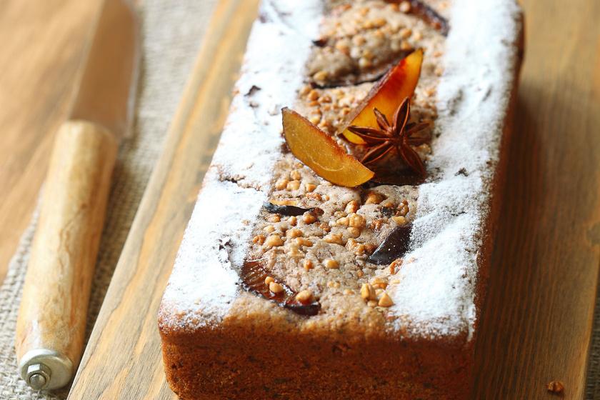 Könnyű gyümölcskenyér kevert tésztából - Rakd bele az ősz kedvenceit