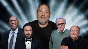 Szexuális zaklatási ügyek, amelyeket Hollywood már elfelejtett