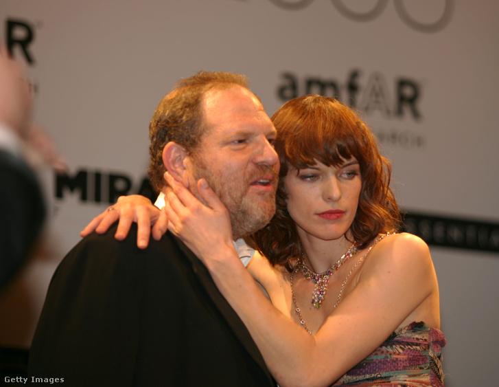 Milla Jovovichcsal