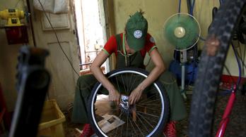Az ország, ahol olcsóbb lett a biciklijavítás