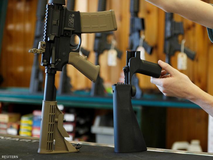 Félautomata fegyver és a rácsatlakoztatható átalakító