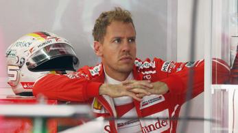 Vettel: Cserben hagytam a Ferrarit