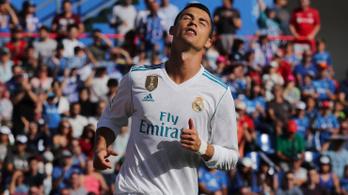 Ronaldo első bajnoki góljával elintézte