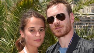 Hivatalos: Alicia Vikander és Michael Fassbender már házaspár