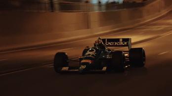 Adelaide éjjel, Benetton-BMW-vel