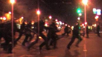 Összecsapások a belvárosban