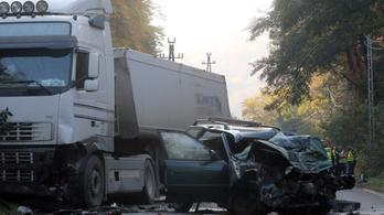 Három halálos baleset Kelet-Magyarországon