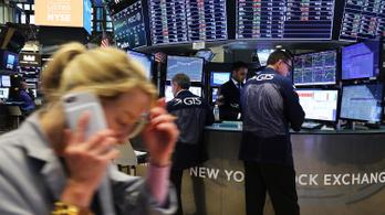 Történelmi csúcson a Dow Jones tőzsdeindex