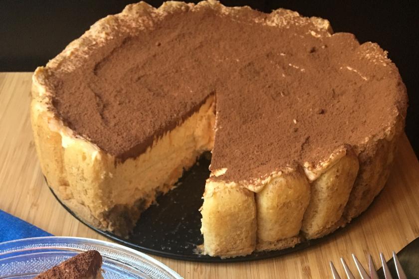 Őszi tiramisu torta: még finomabb, mint az eredeti