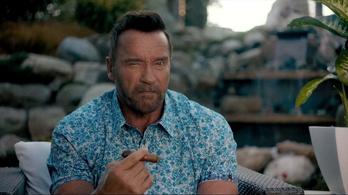 Schwarzenegger egy hülye pojáca, de imádjuk