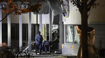 Felrobbantottak egy svédországi rendőrkapitányságot