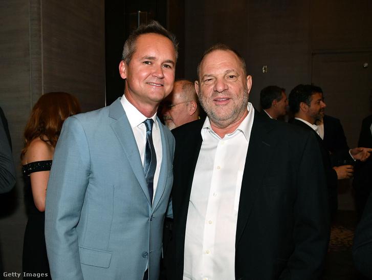 Roy Price és Harvey Weinstein