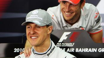 Button kalandjai a Schumacherekkel, Villeneuve-vel, DC-vel