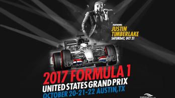 Justin Timberlake miatt lesz éjszaka a hétvégi F1-időmérő