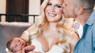 Heidi Montag annyira realitysztár, hogy a szülőszobában is fotósnak pózolt