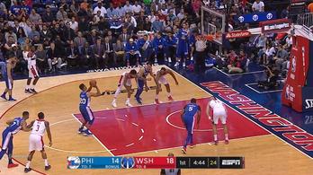Bizarr, ahogy a legnagyobb NBA-tehetség dob