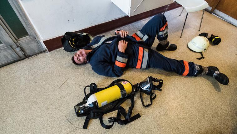 Amikor a tűzoltók mondják, hogy nagy a baj