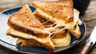 A tökéletes grillezett sajtos szendvics titka