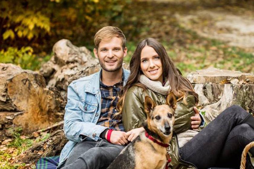 Gyönyörű színésznő Puskás Peti szerelme - Angélával két és fél éve költözött össze