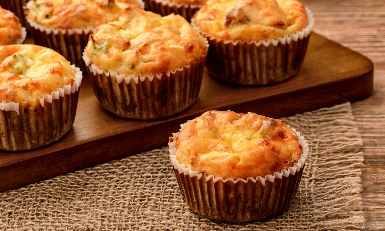 30 perces, duplasajtos muffin - Gyorsabb és finomabb, mint a pogácsa