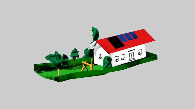 A ház, ami önellátó, mint egy űrhajó