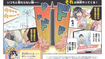 Képregényben mutatják a japánoknak, mit csináljanak atomcsapás esetén