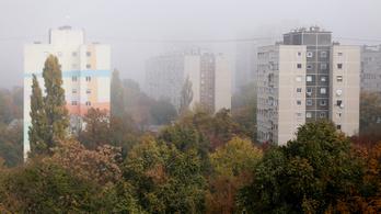 Szombaton is marad a sűrű köd
