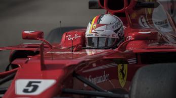 Vettel alatt autót cserél a Ferrari