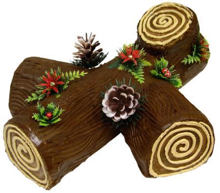 Yule log, a francia karácsonyi fatörzs