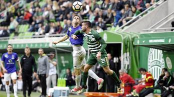 Böde Dániel góljával dőlt el a Fradi-Újpest rangadó