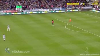 Kapus-gólpasszal verte az újonc a Unitedet