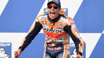 Rossi törött lábbal dobogós Ausztráliában