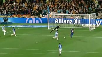 Suárez sem hitte el, hogy ekkora helyzetet ki tud hagyni