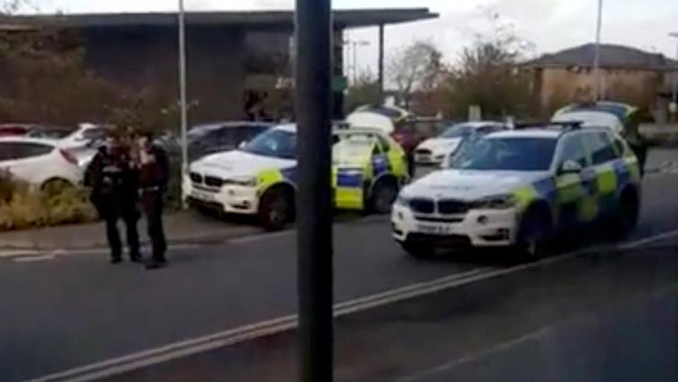 Túszdráma zajlott egy angol városban
