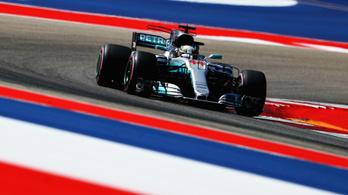 Hamilton nyerte az Amerikai Nagydíjat, a Mercedes világbajnok