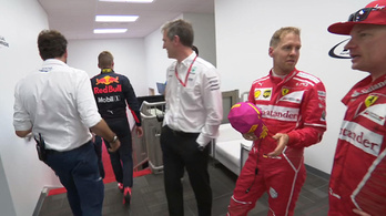 Verstappennel a lihegőben közölték, Räikkönen lett a harmadik