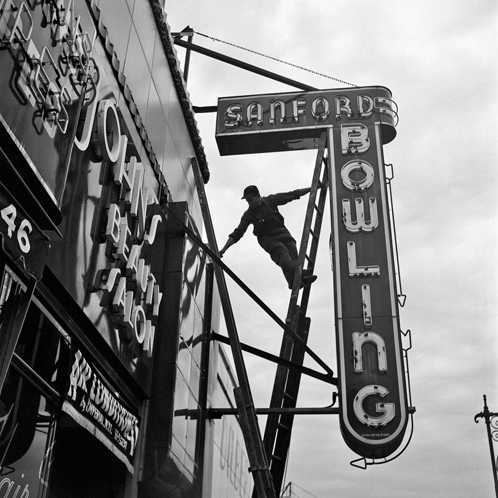 New York, 1954. szeptember 20. (zselatinos ezüst, 2014)