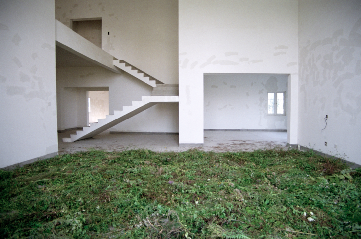 Grass House, gicleé print, Jing Jin City photo series, 2015, China