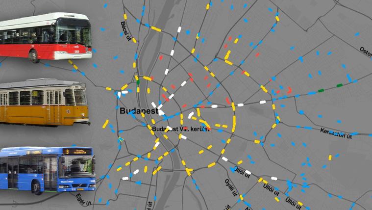 Így bolydul meg minden reggel a fővárosi tömegközlekedés